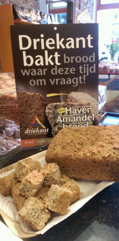 Haver amandel brood